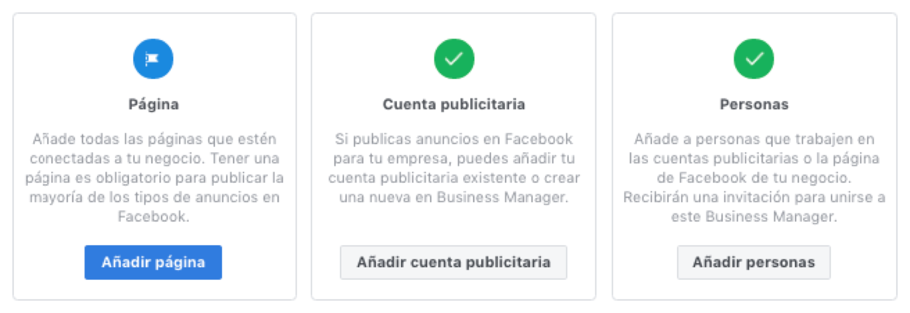 Crear Bussines Manager