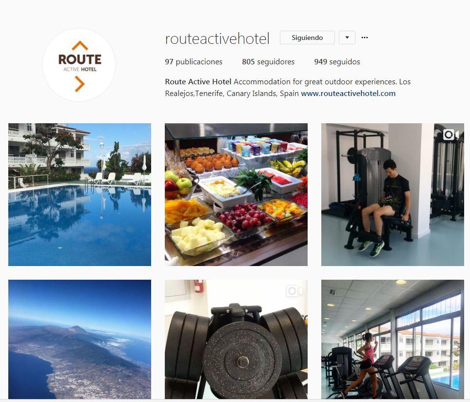 hotel en instagram